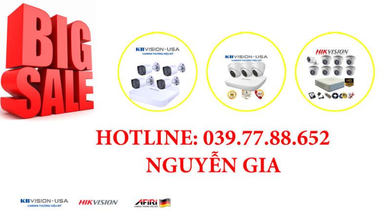 NGUYỄN GIA chuyên lắp đặt camera quan sát tại tphcm [ Camera nhà trường , giám sát , ip , Không dây , wifi , Hikvision ] tận nhà ở sài gòn